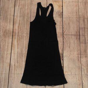 Heart Moon Star Ribbed Racerback Mini Dress